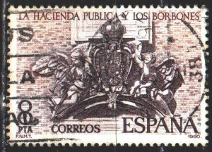 Spain. 1980. 2465. Ministry of Finance. USED.