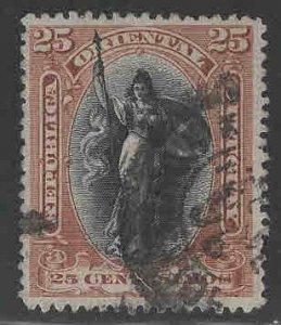 Uruguay Scott 120 Used stamp