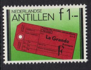 Netherlands Antilles 1980 MNH Rowland Hill London 1 gld   #