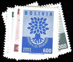 BOLIVIA 418-22  Mint (ID # 77377)