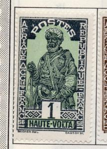 Upper Volta 1920-28 Early Issue Fine Mint Hinged 1c. 193390