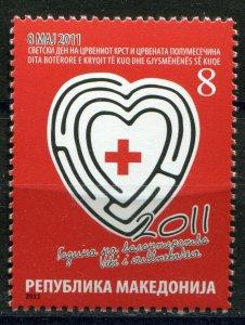 133 - MACEDONIA 2011 - Red Cross - MNH Set