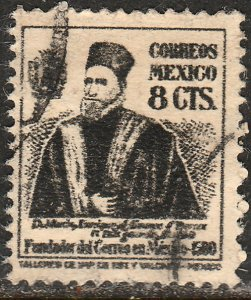 MEXICO 812 8c Enriquez de Almanza founder of posts Used F. (852)