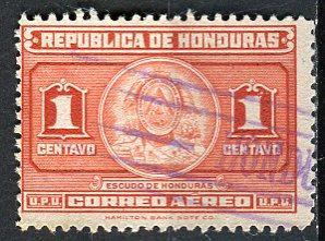 Honduras; 1946: Sc. # C155: O/Used Single Stamp