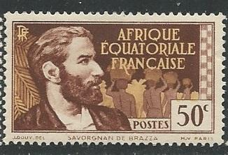 French Equatorial Africa  + Scott # 48 - MH