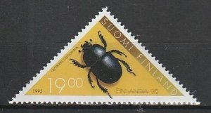 1995 Finland - Sc 962 - MNH VF - 1 single - Insects