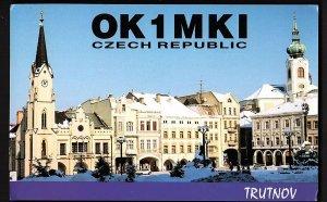 QSL QSO RADIO CARD OK 1 MKI, Trutnov, Czech Republic  (Q790)