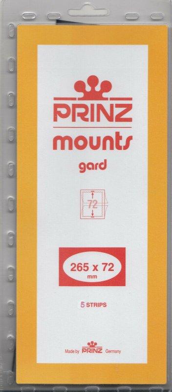 PRINZ 265X72 (5) CLEAR MOUNTS RETAIL PRICE $11.50