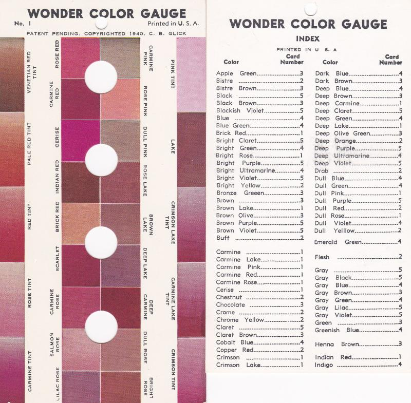 Wonder Color Gauge