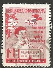 Dominican Republic RA40 VFU Z661-1