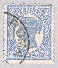 Queensland 132 Used Queen Victoria 1907 (BP51725)