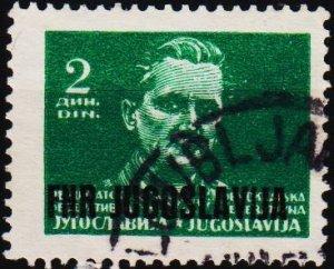 Yugoslavia. 1949 2d S.G.623 Fine Used
