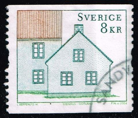 Sweden #2487 Stone Cottage; used (1.50)