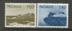 NORWAY, 631-632, H, LINDESNES
