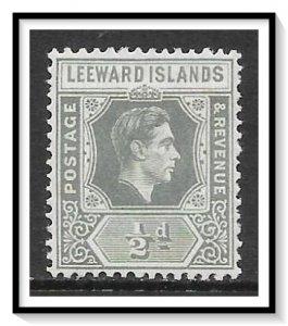 Leeward Islands #120 KG VI MH