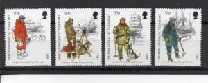 British Antarctic Territory 259-262  MNH