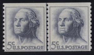 US#1229 - Joint Line Pair - Mint - O.G. - N.H.