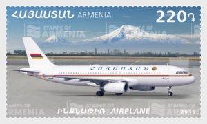 2019 Armenia Aircraft (Scott NA) MNH