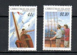 Christmas Island 248-249 MNH
