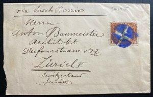 1903 Guatemala Cover To Zurich Switzerland Via Puerto Barrios