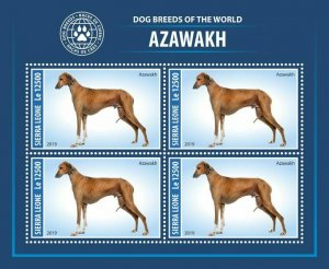 Z08 SRL190805a SIERRA LEONE 2019 Dogs MNH ** Postfrisch