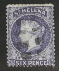 Saint Helena Scott 4 Used Crown CC wmk 1873 CV$97.50