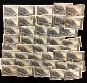746 Acadia Park, National Parks Years Issue   42 MNH 7 c stamps  1934