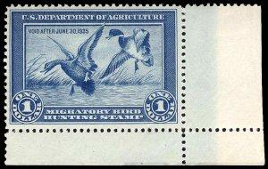 U.S. REV. DUCKS RW1  Mint (ID # 95919)