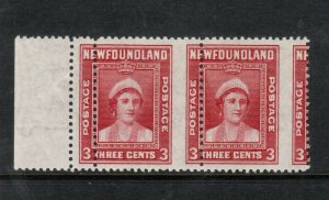 Newfoundland #255 Mint Misperf Variety & Double Perf Pair Never Hinged