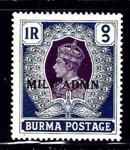 Burma 47 MNH 1945 overprint    (ap1236)