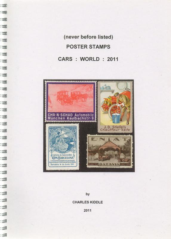 (I.B-CK) Cinderella Catalogue : Poster Stamps : World Cars (2011)