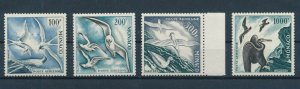 [I558] Monaco 1955 Airmail Birds good set of stamps very fine MNH $690