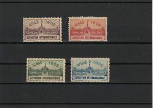 France Lille 1902 International Exposition Mint Never Hinged Stamps Ref 27241