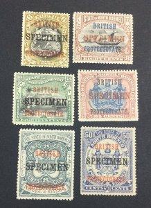MOMEN: NORTH BORNEO SG # 1901 SPECIMEN MINT OG H £ LOT #6960