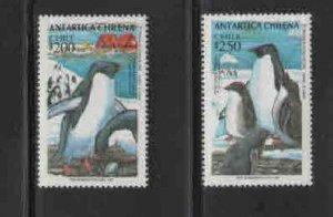 CHILE #1080-1081  1993  PENGUINS      MINT VF NH  O.G