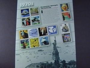 U.S.#3189-MNH-- PANE OF 15 STAMPS-CELEBRATE THE CENTURY THE 1970'S----1999
