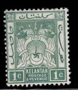 MALAYA Kelantan Scott 14 MH* wmk 4