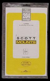 Scott Mounts Clear,156/204 mm (pkg 5) (01018C)
