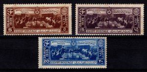 Egypt 1936 Anglo-Egyptian Treaty Set [Unused]