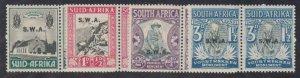 Southwest Africa - 1935-36 - SC B1-4 - NH - Complete set