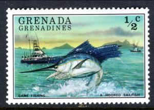 Grenada Grenadines 153 Fish MNH VF