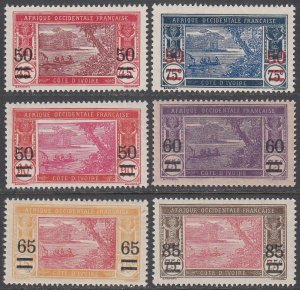 Ivory Coast 78-83 MLH / MH CV $13.40