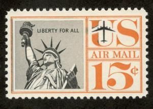 C58 Statue Of Liberty US Single Mint/nh FREE SHIPPING