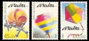 Aruba 1988 Scott #B13-B15 Mint Never Hinged