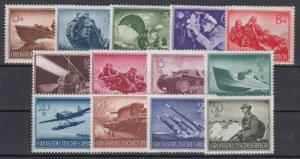GERMANY Reich 1944 Mi# 873-885 MNH