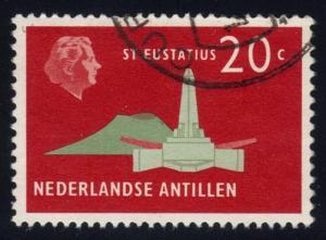 Netherlands Antilles #248 St. Eustatius, used (0.25)