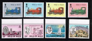 UK STAMP ISLE OF MAN FRESH MNH STAMPS COLLECTION LOT  #W2
