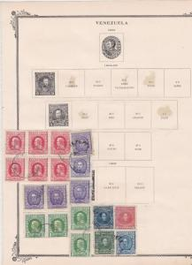 venezuela 1904 -06-  stamps ref r9158
