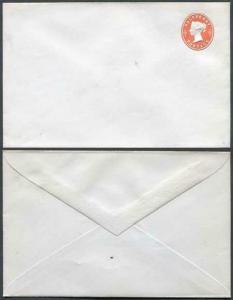 ES18a QV 1/2d Vermillion Envelope Mint