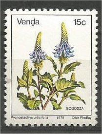 VENDA, 1979, MNH 15c, Flowers, Scott 17